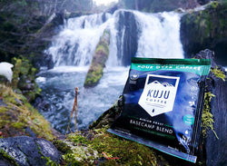 Kuju Coffee Pour Over Packets Review Hiking Backpacking