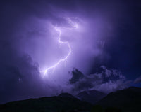 Lightning Safety Storms Mountains Backcountry Backpacking What to Do