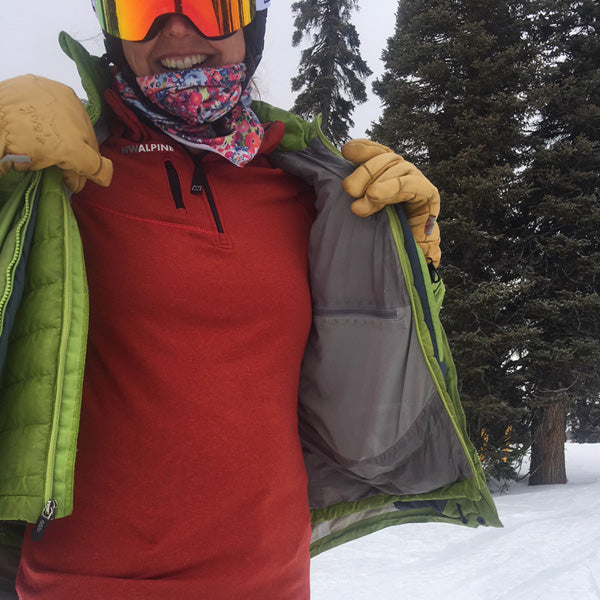 NW Alpine Spider Hoody Base Layer Review