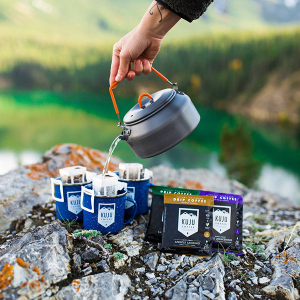 Kuju Coffee: A Fresh Approach to Portable Pour Over Coffee