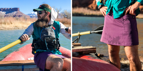 Skirt Gear Review Thru-Hiking UL Ultralight Backpacking