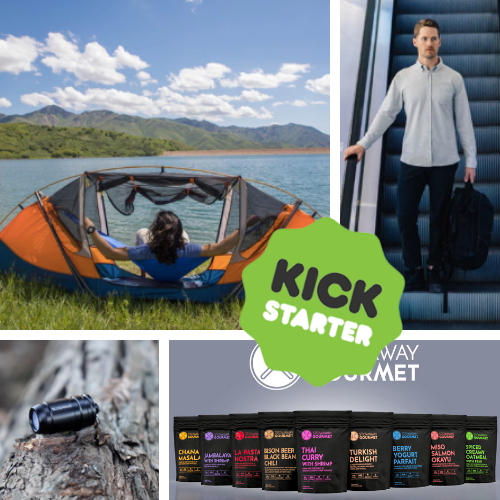 Kickstarter Roundup: Stowaway Gourmet, TAMMOCK, Tiny Lights, and Merino Wool Shirts