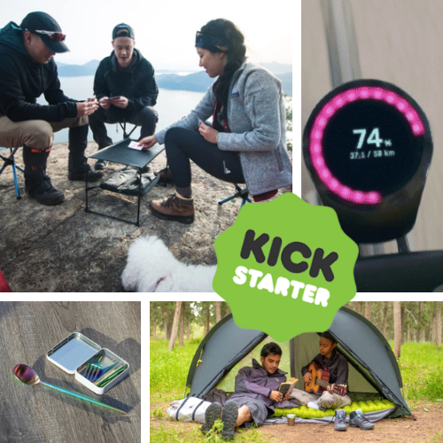 Kickstarter Roundup: Camping Stools, Smart Bike Tech, Tiny Cutlery, and the Eye Roller of the Week!