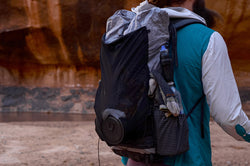 Ultralight Backpacking Pack Review Lite AF 35 Curve Fast Track