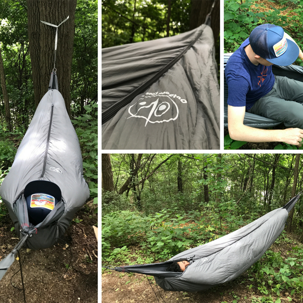 MummyPod Gear Review: for ground sleepers AND tree dwellers!