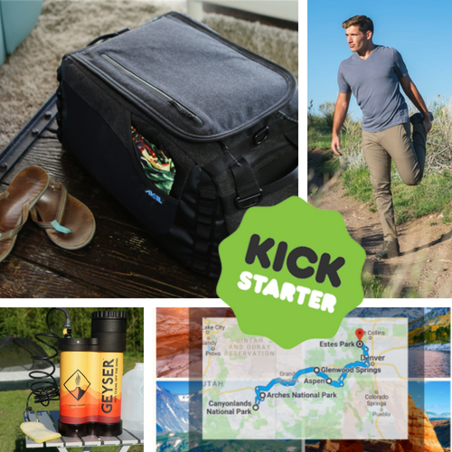 Kickstarter Roundup: Outdoor Ninjas, Coolers, Stretch Pants, and Geyser System!