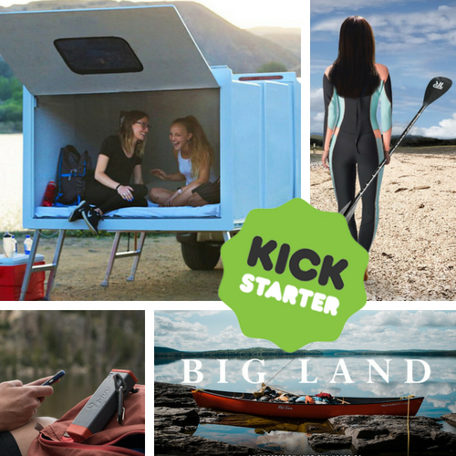 Kickstarter Roundup: Hitch Hotel, SUPing, Big Land, and Bivystick!