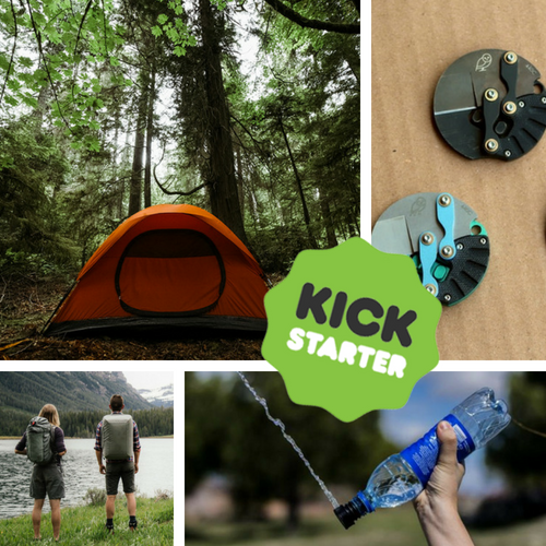 Kickstarter Roundup: Self healing tents, backcountry bidets, bikepacks, coin knives, and crossover packs