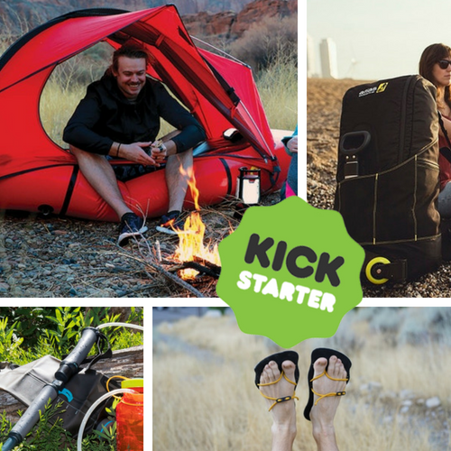 Kickstarter Roundup: UL Sandals, Tent Rafts, Trekking Pole Water Purifiers, and Behemoth Backpacks