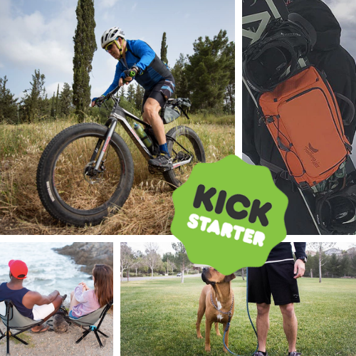 Kickstarter Roundup: Biking Bibs, Snowboard Slings, Ruff Ropes, and GO Chairs!