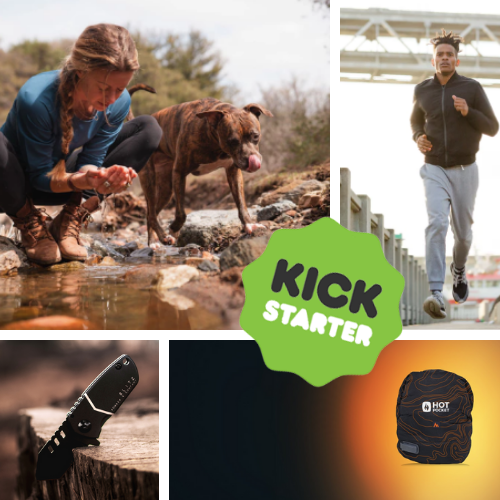 Kickstarter Roundup: Hot Pockets, Regenerative Tees, Travel Pants, and Pocket Knives!