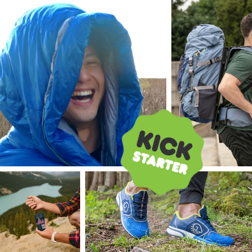 Kickstarter Roundup: NoZIPP sleeping bags, HoverGlide silliness, RockSOKing and Wool Cross X Shoes