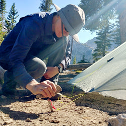 Gear Review: Titanium Ascent Tent Stake by Vargo Outdoors