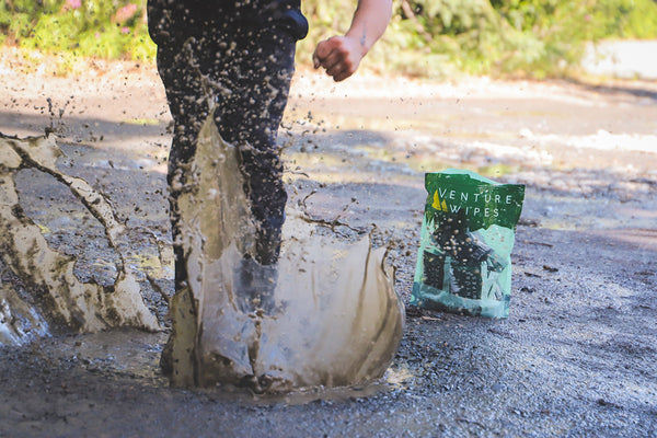 The Story Behind Venture Wipes: Because Dirt Happens!