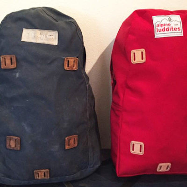 Why newer isn't always better: discover custom-made vintage backpacks from Alpine Luddites