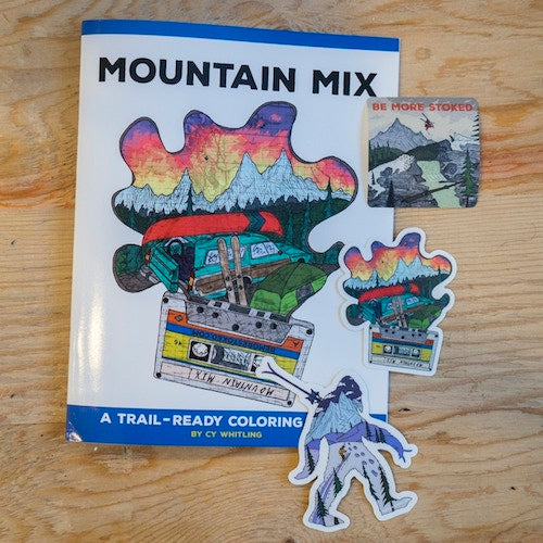 This Week in Outdoor Gear Startups: Mountain Mix Coloring Book now on Kickstarter!