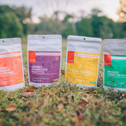 The story of how Good To-Go got its start making healthy dehydrated meals for camping