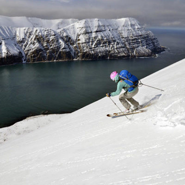 Somewhere out of a song: Iceland ski touring photos