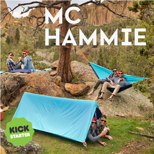 On Kickstarter: All in one Hammock, Shelter, and Blanket!