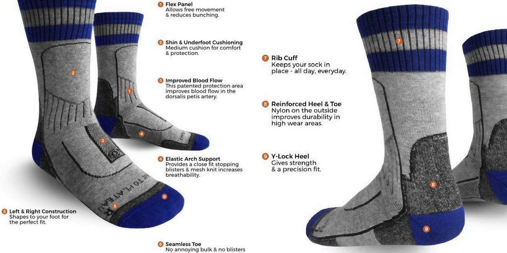 Yak Wool Hiking Socks from Peak to Plateau