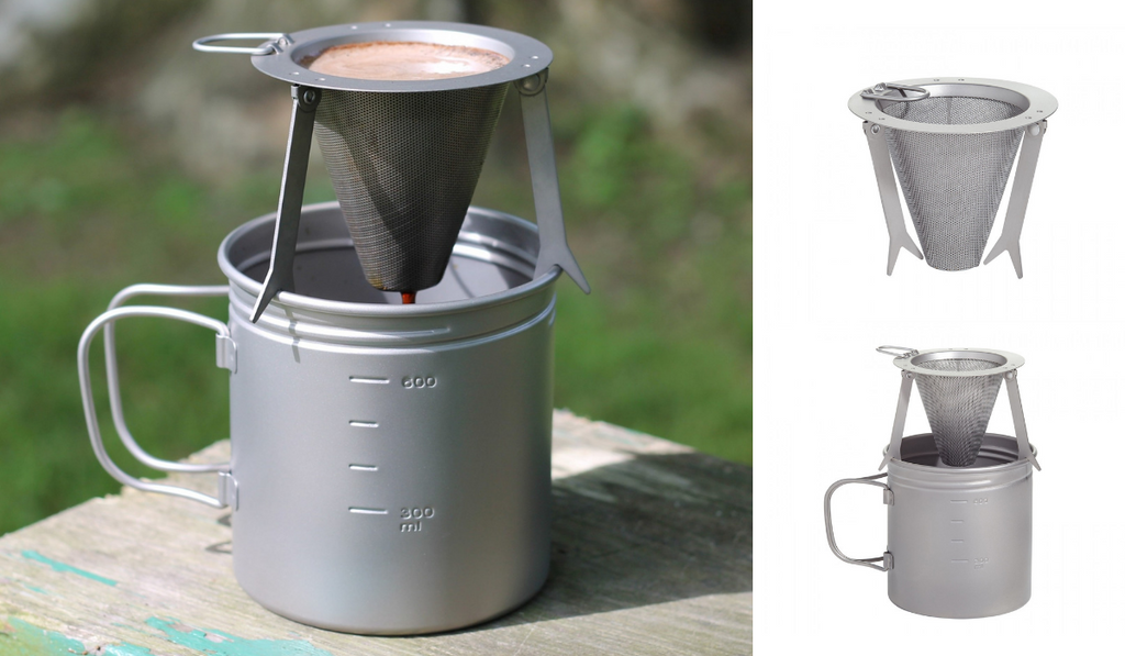 TITANIUM TRAVEL COFFEE FILTER