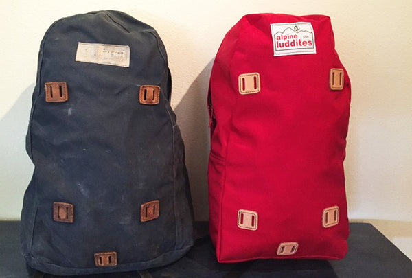 Alpine Luddites Vintage Backpacks Garage Grown Gear
