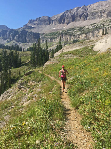 Amy Hatch Running Tetons
