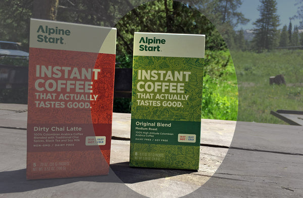 Best Coffee for Lightweight and Ultralight Backpacking - Blind Taste Test - Alpine Start - Original Blend