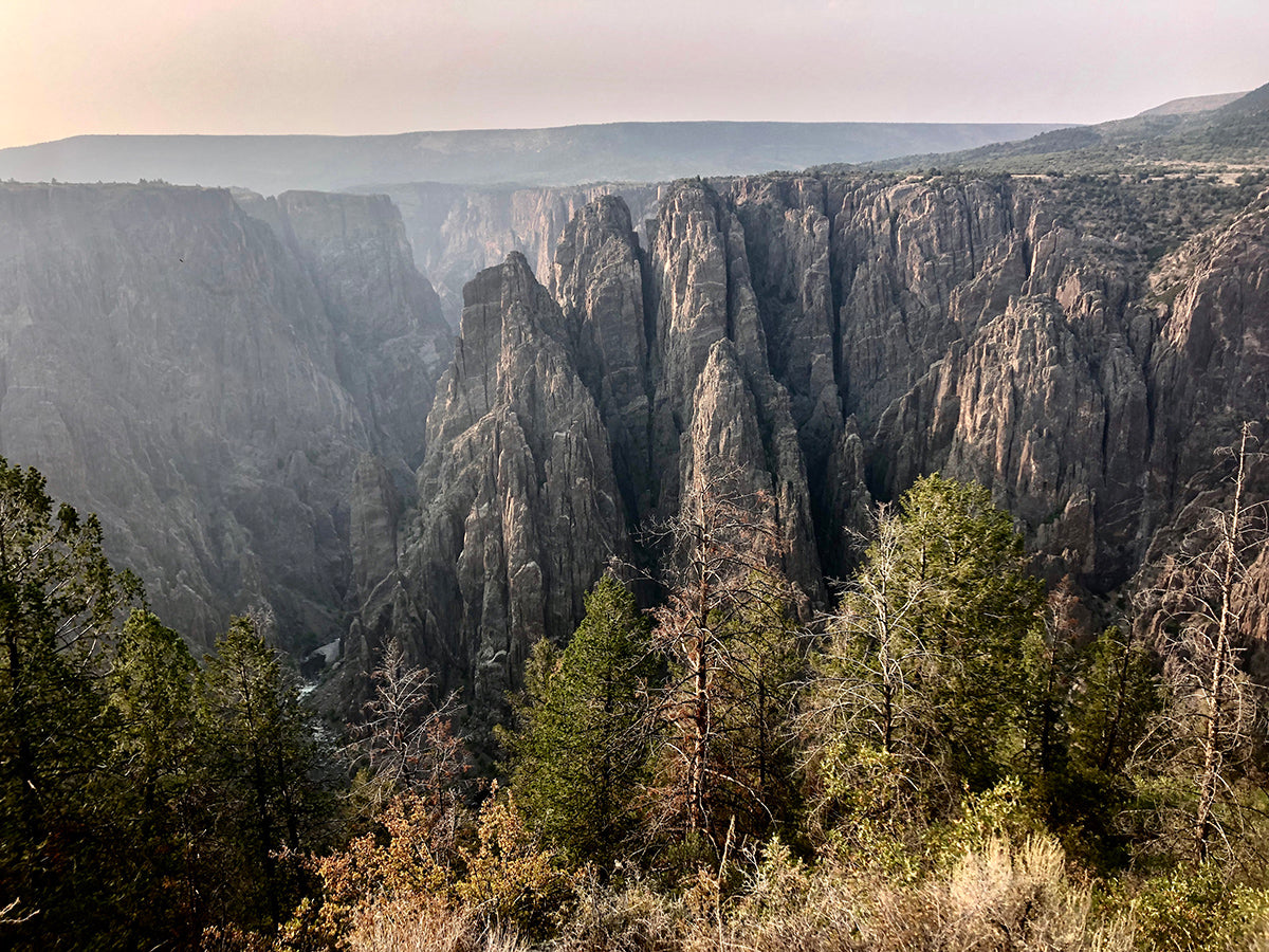 Black Canyon of the Gunnison Lesser Known National Parks Hiking Backpacking Off the Beaten Path Fall