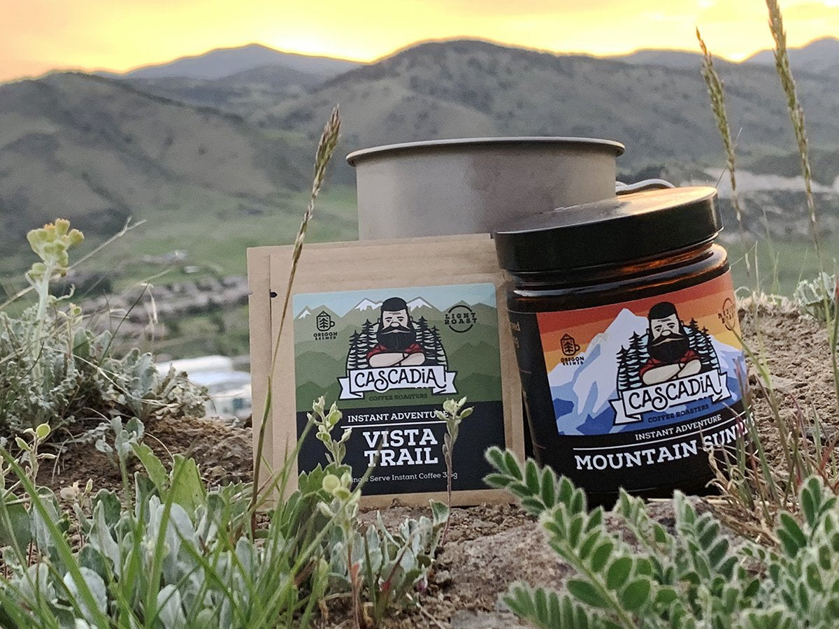 Cascadia Instant Coffee Best Stocking Stuffers Ultralight Backpackers Lightweight Backpacking Accessories Hiking Hikers