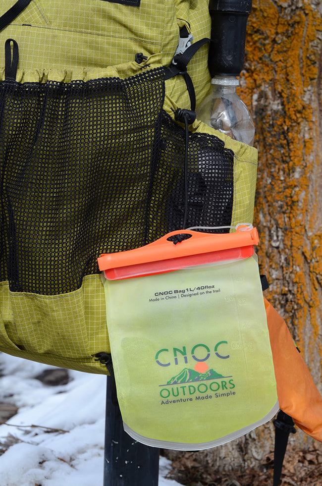 Cnoc Cold Soak Bag Gear Review UL Ultralight Backpacking Thru-Hiking