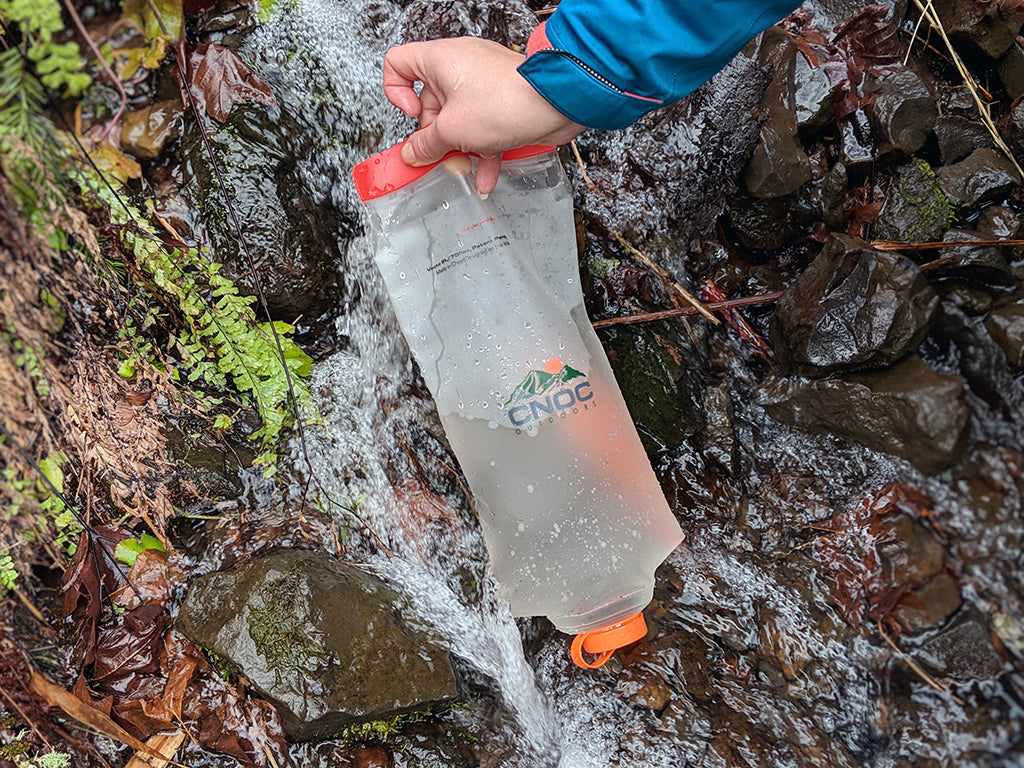 Cnoc Vecto Water Container Bladder Bottle Backpacking Thru Hiking