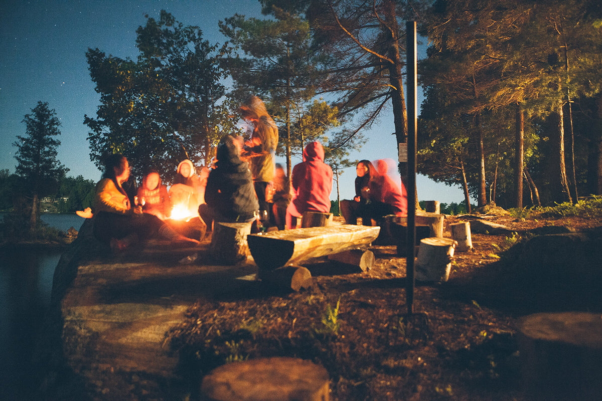 Creepy Spooky Scary Podcasts for Campfire Camping