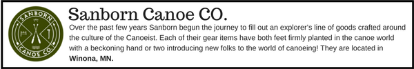 Sanborn Canoe - Outdoor Gear Brands Made in Designed in Minnesota