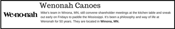 Wenonah Canoes - Outdoor Gear Brands Made in Designed in Minnesota