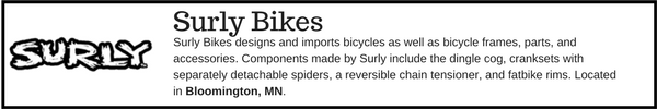 Surly Bikes - Outdoor Gear Brands Made in Designed in Minnesota
