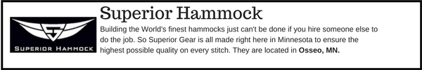 Superior Hammock - Outdoor Gear Brands Made in Designed in Minnesota