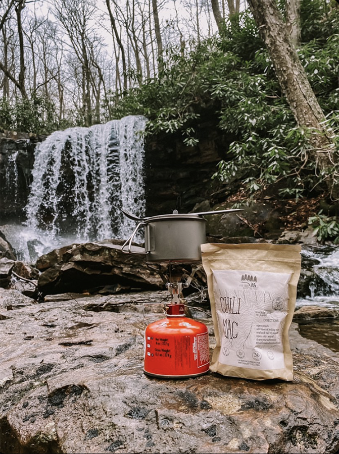 Evergreen Adventure Foods Backpacking Plant Based Dinners Compostable Plastic Free