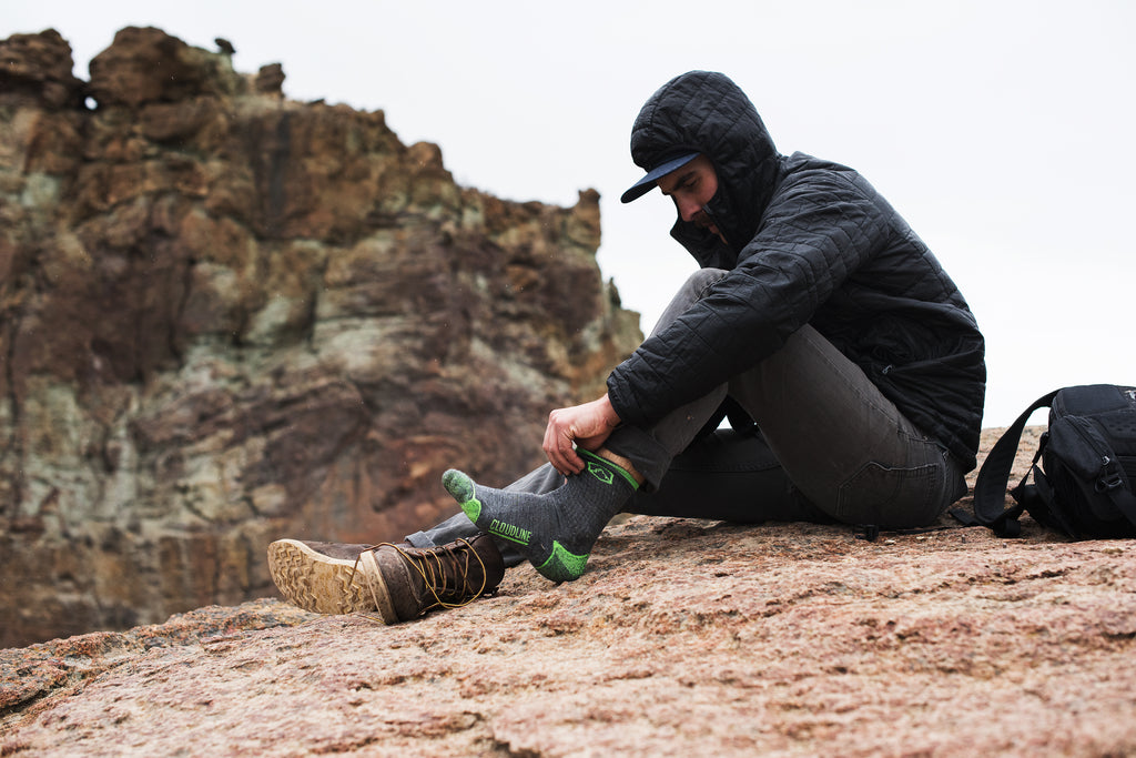 Cloudline socks outdoors hiking startup story