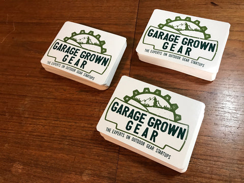Garage Grown Gear Free Stickers