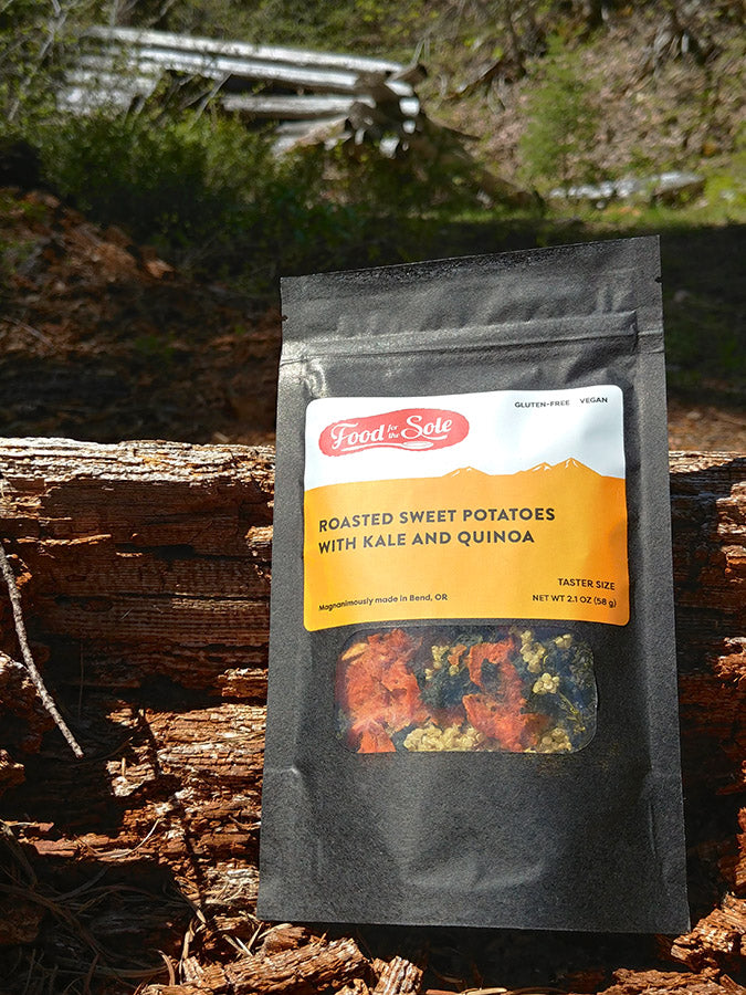 Food for the Sole Dehydrated Best Backpacking Meal Sweet Potato Quinoa Kale Review