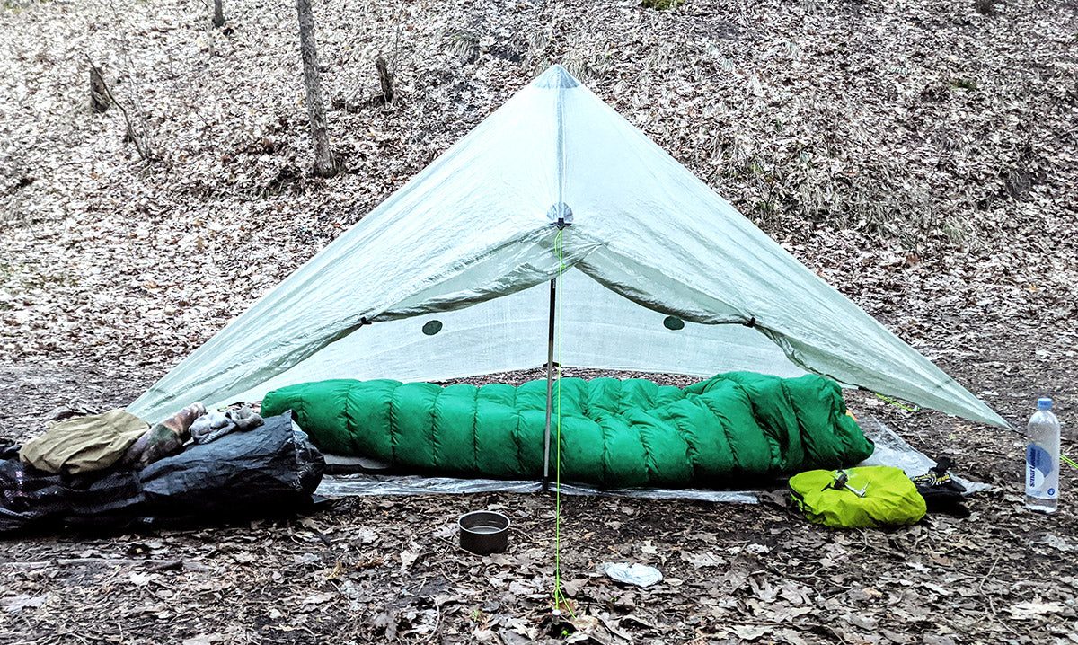 Gryphon Gear Aries Quilt Review 30 Degree Ultralight UL Backpacking - Mitten Camper
