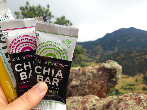 Health Warrior Chia Bars Best Backpacking Snacks Garage Grown Gear