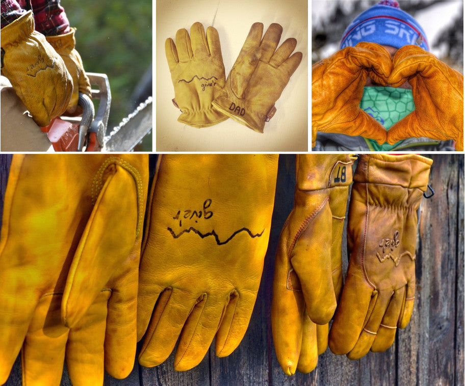 Gifts for outdoorsy dad - Give'r hand-branded gloves