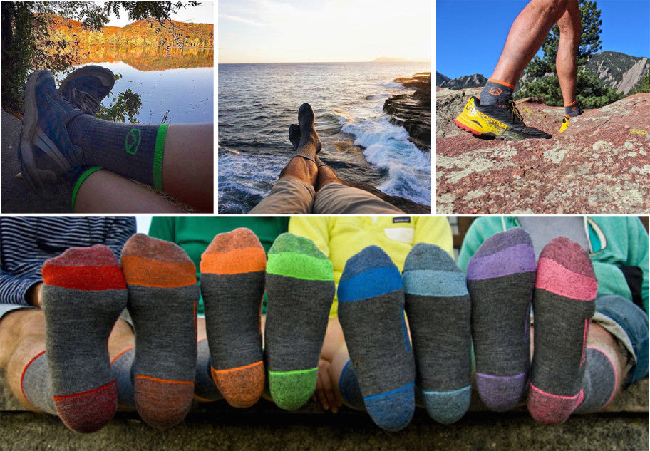Gifts for outdoorsy dad - Cloudline Socks
