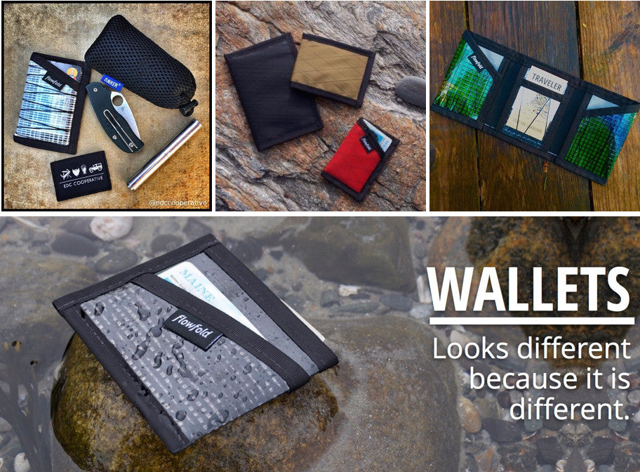 Gifts for outdoorsy dad - Flowfold Wallets