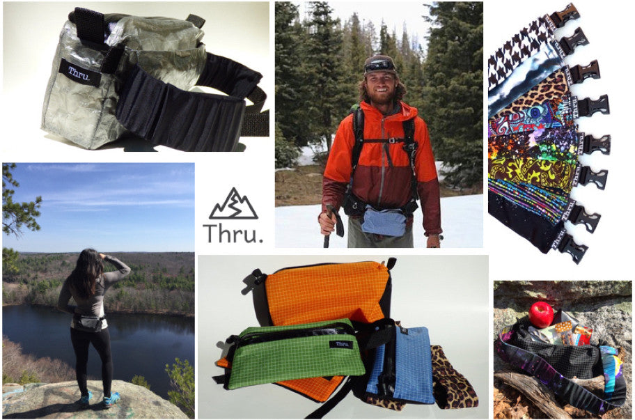 Gifts for outdoorsy dad - Thru. Fanny Pack