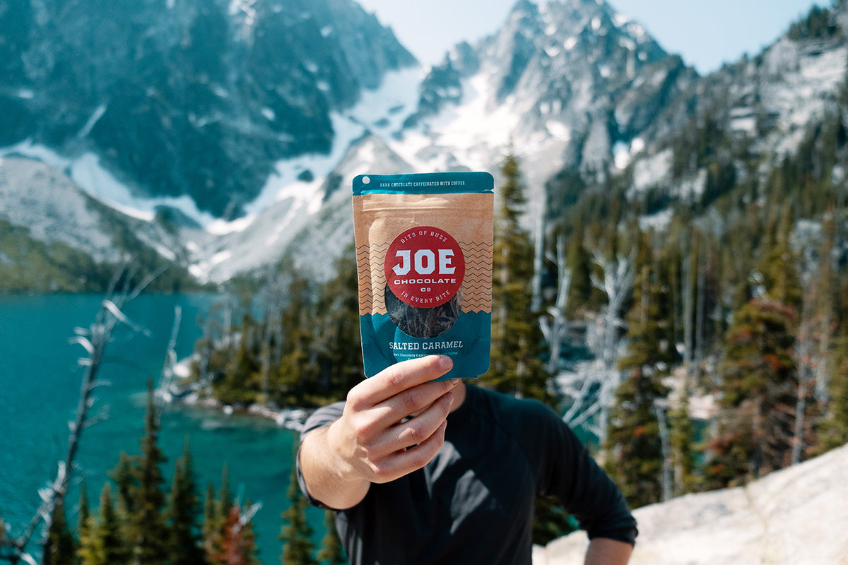 Joe Chocolate Co Coffee Caffeine Thru-Hiking Backpacking Snacks Food