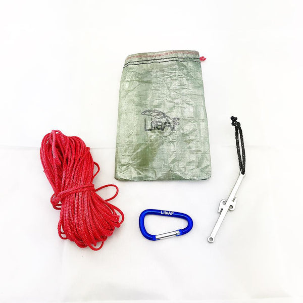 Lite AF Stuff Sacks Dry Bags Pouches Bear Hang Fanny Packs Backpacks Dyneema Ultralight Backpacking Thru Hiking