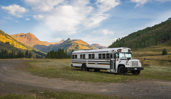 Living On A Converted Schoolbus